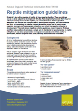 Reptile Mitigation Guidelines 2011