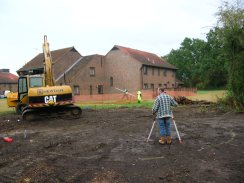Photo 1 / 2 - Pond at East Surrey Hospital being constructed in 2005